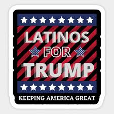 Latinos For Trump 2020 Latinos For Trump 2020 Sticker Teepublic Uk