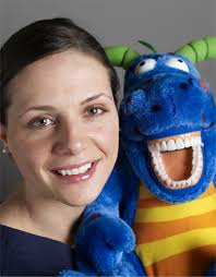 Magi Z Dragon visits Dr. Abigail Moore at the Burlington Dental ...