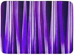 bath mat abstract royal purple lilac
