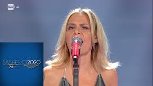 Sanremo 2020 - Irene Grandi canta