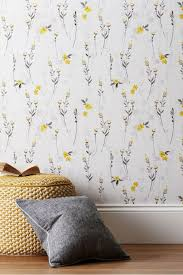 wall eden fl wallpaper yellow