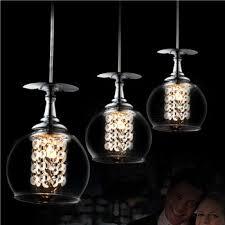 luxury glass shade chandelier modern