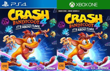 Crash Bandicoot 4 es real, se filtran imágenes del trailer.
