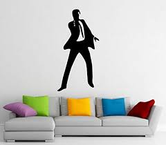 Amazon Com James Bond Wall Decal Wall Vinyl Sticker Secret Agent 007 Interior Home Art Wall Murals Bedroom Home Decor 4j01d Kitchen Dining