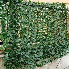 Costway 59 X118 Faux Ivy Leaf Decorative Privacy Fence Screen Artificial Hedge Fencing Walmart Canada
