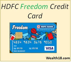 hdfc bank freedom credit card review