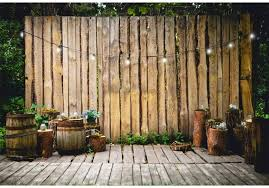 Amazon Com Csfoto 8x6 5ft Photography Background For Wood Fence Backdrop Green Spring Scenery Outdoor Theme Party Backdrop Bowies Lights Banner Adults Kids Portrait Photo Backdrop Studio Props Camera Photo