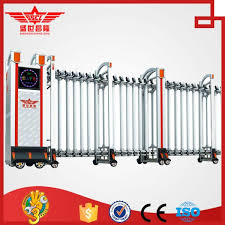 Foldable Gate Home Retractable Aluminum Fencing Gate L1522 For Sale Retractable Gate Manufacturer From China 105200023