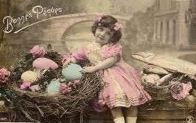 Cartes postales anciennes: Carte postale ancienne Joyeuses Pâques