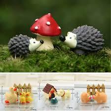 miniature fairy garden ornament set diy