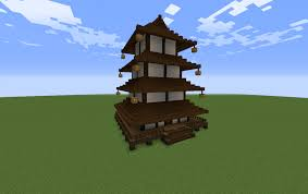 Asian 4 Storey Pagoda New Version Creation 11241