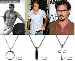 style staple men s pendant necklaces