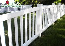 China Uv Proof Bright White Pvc Plastic House Garden Picket Fence China Plastic Fence Pvc Fence