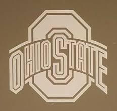 Removable Ohio State Buckeyes Wall Window Decal Sticker Osu Bucks