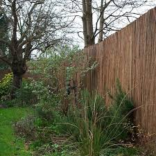 willow screening roll 6ft natural fencing