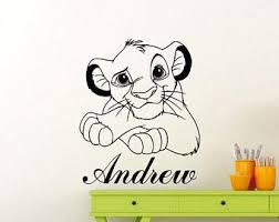 Lion King Simba Timon Pumbaa 3d Window View Decal Wall Sticker Art Disney Children S Bedroom 3d Decor Decals Stickers Vinyl Art