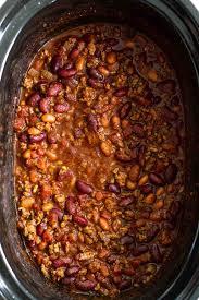 easy crock pot chili recipe slow