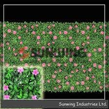 China New Design Pvc Coated Artificial Leaf Hedge Fence Panels China Fence And Artificial Plant Price