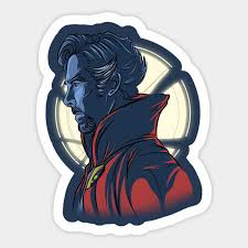 1pcs Doctor Strange Superpower Sticker For Car Guitar Luggage Motorcycle Car Laptop Decal Aliexpress