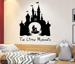 Amazon Com The Little Mermaid Wall Decal Ariel Decal Disney Quotes Boy And Girl Name Decal Trendy Sticker Baby Room Decal 4110 Handmade