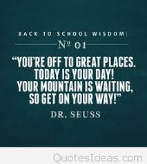 day of school quotes