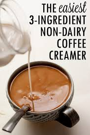 non dairy coconut coffee creamer