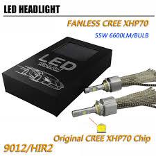 P70 XHP70 Car LED Đèn Pha LED H4 Hi Lo 6600lm CR EE chip 6600LM H4 Cao Thấp  Chùm Đèn Pha Xe Máy Bóng Đèn H7 h11 9005 9006 9012 - AliExpress