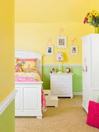 Girls Room Paint Ideas Yellow