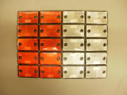 Gate Post Reflectors In Fence Posts For Sale Ebay