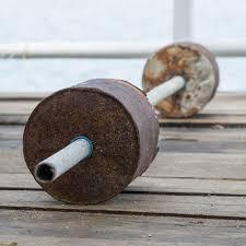 how to make homemade weights shape
