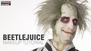 beetlejuice makeup tutorial whole