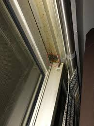 gap at top of sliding door when closed