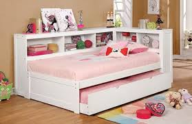 corner twin size bookcase daybed in