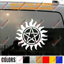 Pentagram Wiccan Wicca Pagan Star Car Decal Bumper Sticker Ebay