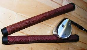 gridiron leather golf grip gets top marks