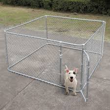Durable Metal Fences 7 5 X7 5 Outdoor Large Dog Kennel Cage Pet Pen R Sandinrayli