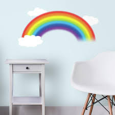 Over The Rainbow Giant Wall Decals Roommates Decor