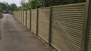 Slatted Fencing Venetian Fencing Professional Installation