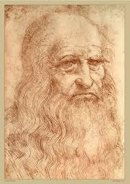Portrait of a Man in Red Chalk - Leonardo Da Vinci Self Potrait ...