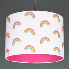 Unicorn Colours Mini Rainbows Lampshade Girls Rainbow Bedroom Rainbow Girls Room Rainbow Room Decor