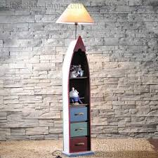 Kids Bedroom Wooden Boat And Lighthouse Beach Style Floor Lamps Ornate Kids Lamps