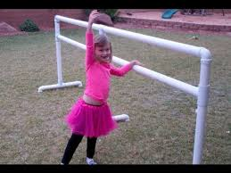 how to build a pvc ballet bar in 30