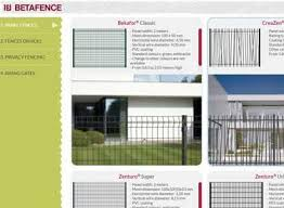 Draw Your Fence And Gate Betafence Free Application