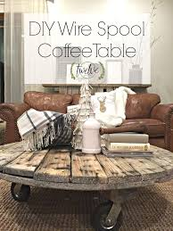 wire spool tables ideas on