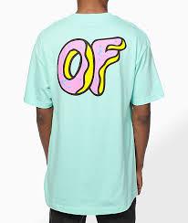 odd future pastel of logo t shirt zumiez