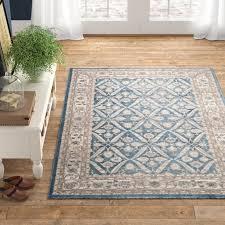 sofia power loom blue beige area rug