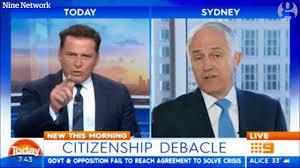 Turnbull calls Karl Stefanovic ...