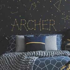 Personalized Constellation Name Wall Decal Set Project Nursery