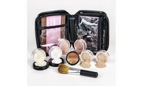 off on l makeup kit w brush case