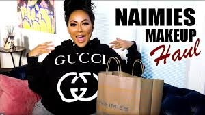 naimies makeup haul you